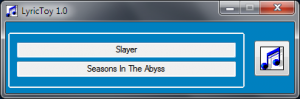 LyricToy 2.4 - náhled