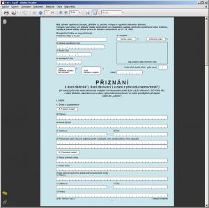 Daň dědická, darovací a z převodu nemovitostí - formuláře - náhled