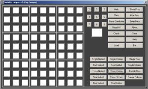 Sudoku Helper 2.1 - náhled