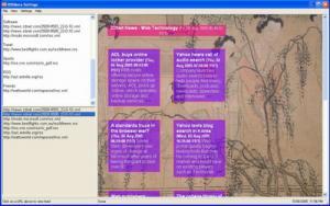 RSSMore 1.0 - náhled