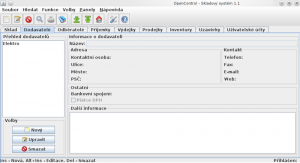 OpenControl 1.2 - náhled