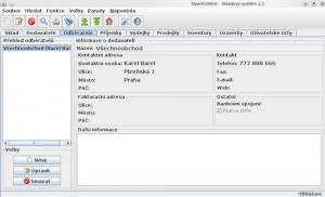 OpenControl 1.3 - náhled