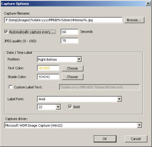 WebCamImageSave 1.10 - náhled