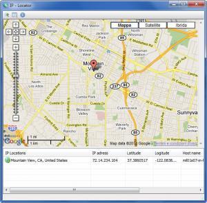 IP Locator 1.0 - náhled