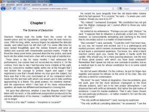 EPUBReader 1.5.0.9 - náhled
