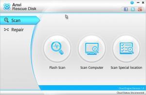 Anvi Rescue Disk 1.0 - náhled