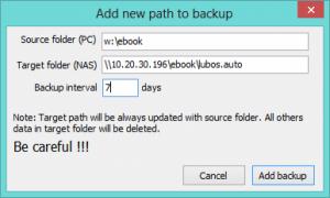nxtKeepSync 1.0.2.0 - náhled