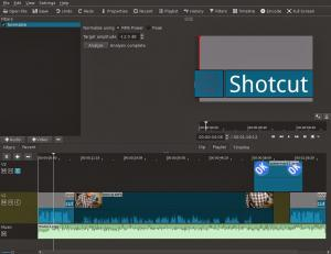Shotcut 16.09.01 - náhled