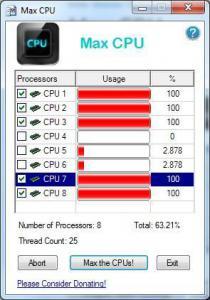 Max CPU 1.0 - náhled