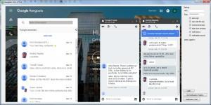 Hangouts notifikátor - náhled