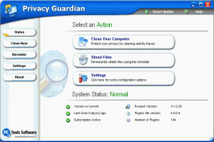 Privacy Guardian 4.1 - náhled