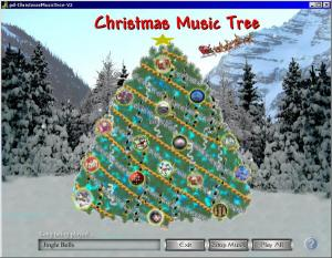 Christmas Music Tree 2.0 - náhled