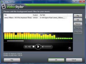 Ashampoo Video Styler 1.0.1 - náhled
