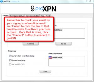 proXPN 2.4.10 - náhled