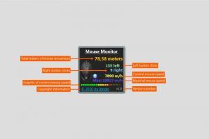 Mouse Monitor - náhled