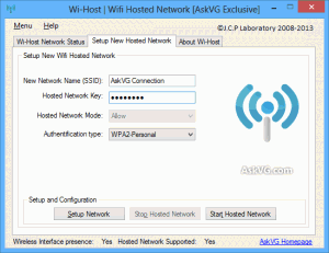 Wi-Host 1.0 - náhled