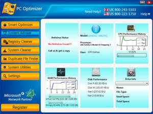 PC Optimizer 2.0 - náhled