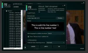 .NET Streamer 3.0.0.7 - náhled