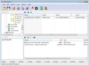 Hanso Burner 1.8.0.0 - náhled