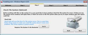 Tweaking.com - Windows Repair 3.9.26 - náhled