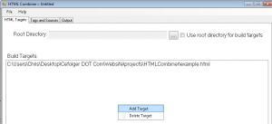 HTML Combiner 1.0.73 - náhled