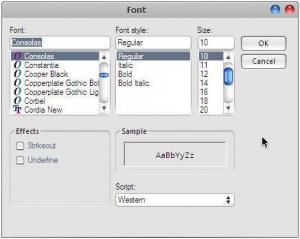 Notepad Express 1.1 - náhled