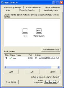 Input Director 1.2.2 - náhled