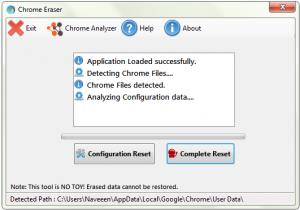 Chrome Eraser 1.0.1.8 - náhled