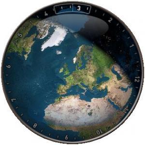 EarthClock 1.31 - náhled