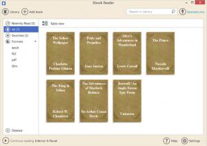 Icecream Ebook Reader 5.07 - náhled