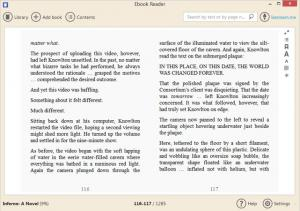 Icecream Ebook Reader 5.0 - náhled