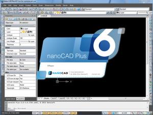 nanoCAD Plus 8.0 - náhled