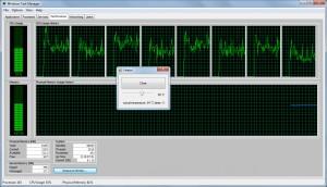Nástroj pro zatížení CPU - náhled