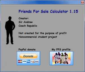 FFS Calculator 1.15 - náhled