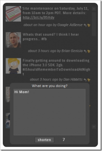 TweetZ 3.1 - náhled