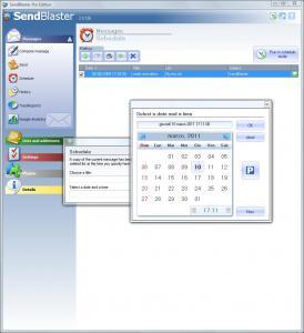SendBlaster 2.0.127 - náhled