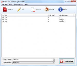 Weeny Free PDF to Image Converter 1.3 - náhled