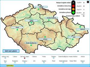 Zeměpisná cvičení - Česká republika - náhled