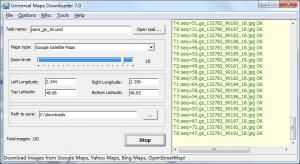 Universal Maps Downloader 7.0 - náhled