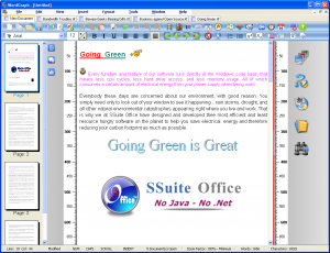 SSuite WordGraph 8.20 - náhled