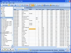 Audio Catalog 2.0 - náhled