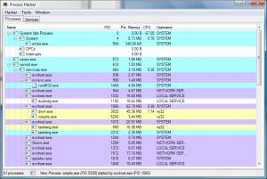 Process Hacker 2.39 - náhled