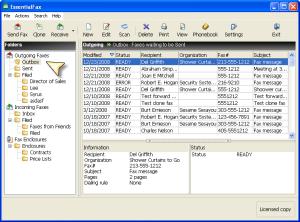 EssentialFax 1.61 - náhled