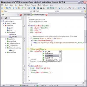 Komodo Edit 10.1.3.17451 - náhled