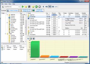 Folder Size 4.2 - náhled