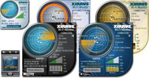 Xirrus Wi-Fi Monitor Gadgets 1.2 - náhled