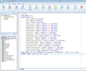 BSQL 2.1 - náhled