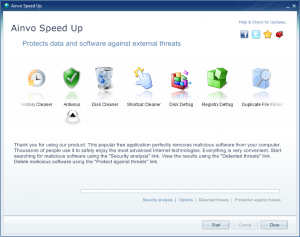 Ainvo Speed Up 2.3.2.351 - náhled