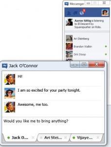 Facebook Messenger 2.0 - náhled