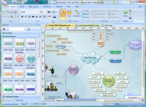 Edraw MindMap 8.7 - náhled